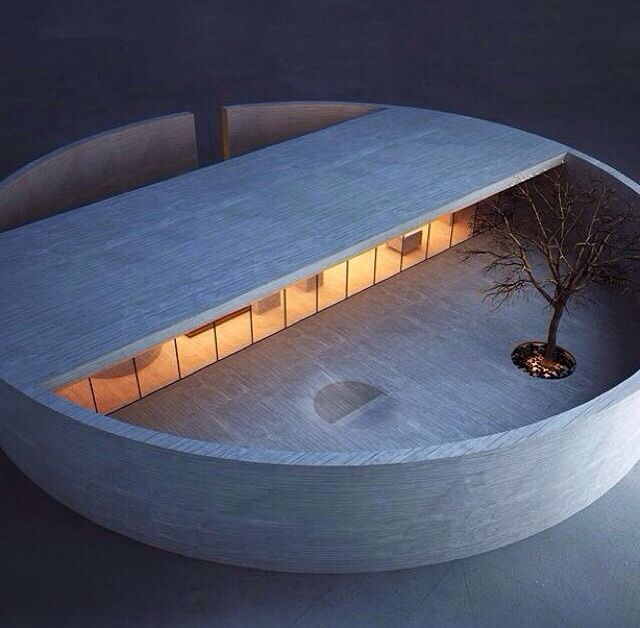 小建筑,冥想,禅