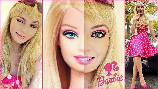 Halloween Costume Ideas Blonde Hair 2018 For Blond Girls Halloween Costumes Halloween Halloween20 Barbie Makeup Halloween Girl Halloween Costumes For Girls