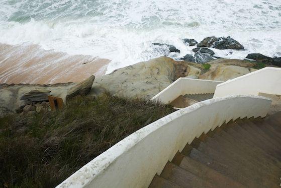 Lanscape of Areias do seixo hotel - Portugal