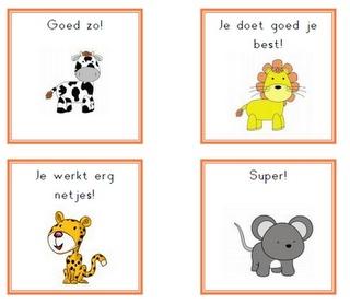 Juf Inger: complimentenkaartjes#Repin By:Pinterest++ for iPad#
