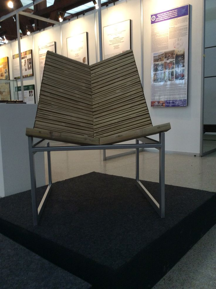 Strip Panel Bamboo Chair (On-going)
