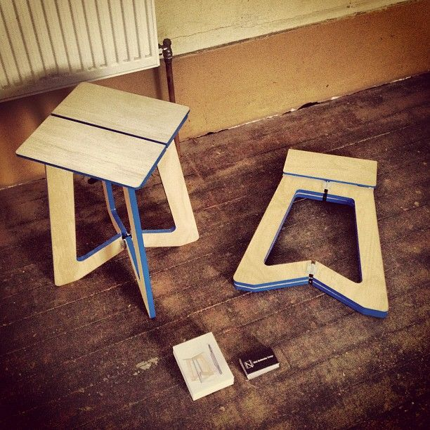 """@Nick Sadowsky's photo: """"And that's Un-Hinged set-up as well. #mfringe #melbourne #design #australiandesign #furniture"""""""