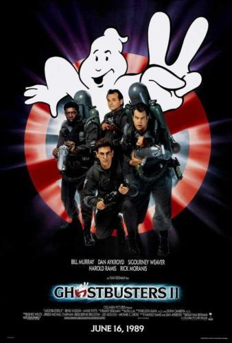 Ghostbusters 2 1989 27 x 40 Movie Poster Bill Murray Dan Aykroyd Style A | eBay