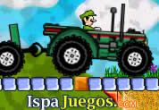 Juego de Mario Tractor 2013 | JUEGOS GRATIS:  Mario regresa con este año con este nuevo juego sobre manejar un gran tractor, pero antes de usar a Mario bros tendrás que usar a sus amigos y así desbloquear a los demás, ten cuidado en no volcar y capturar todas las monedas que puedas