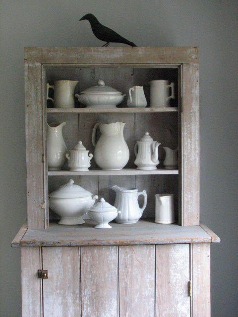 ironstone, cabinet