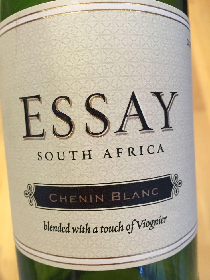 essay chenin blanc 2011 Essay - chenin blanc nv (750ml) available at bell wine & spirits in washington, dc.