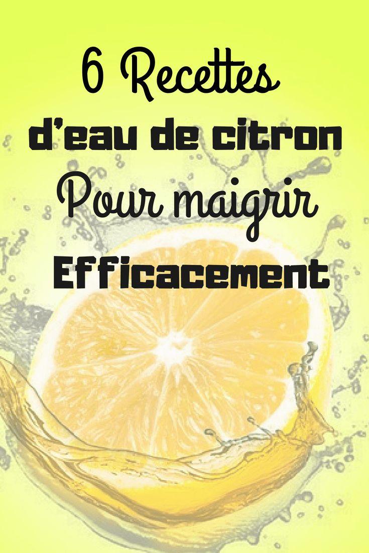 citron pour maigrir des joues