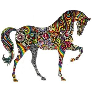 wall_sticker_horse_flowers_pattern.jpg (300×300)