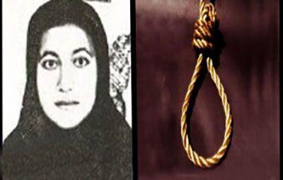 Fatemeh Salbehi jeune femme exécutée en Iran