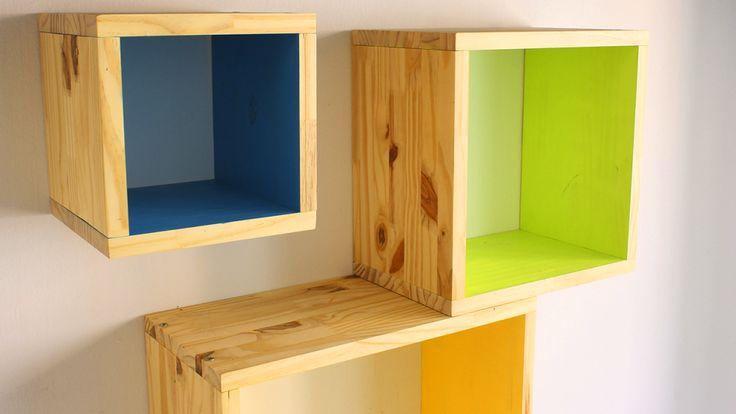 Cómo hacer estanterías modulares ¡MUY FÁCIL! | Bricolaje