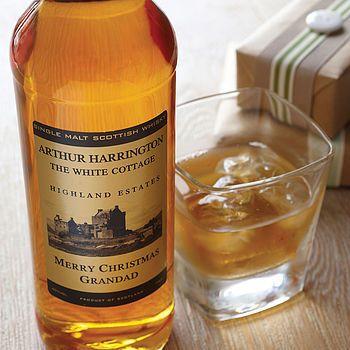 Personalised Speyside Single Malt Whisky