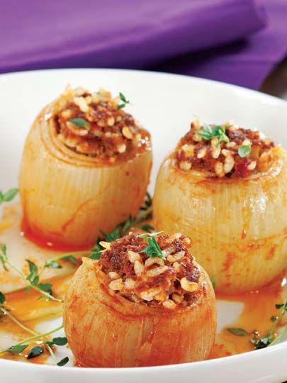 Soğan dolması Tarifi - Türk Mutfağı Yemekleri - Yemek Tarifleri