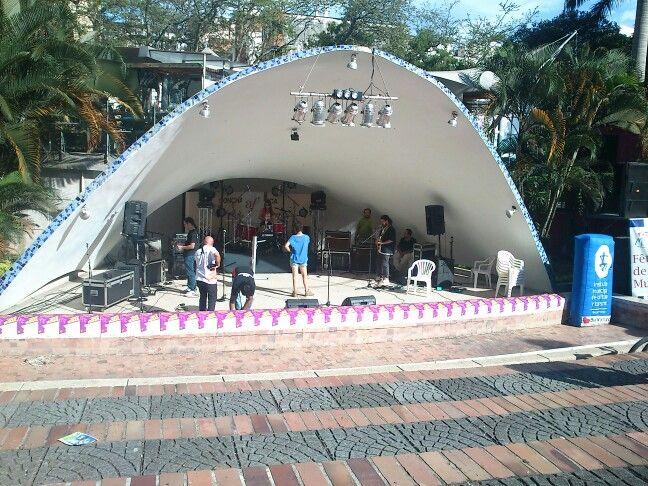 Concha Acústica. Bucaramanga