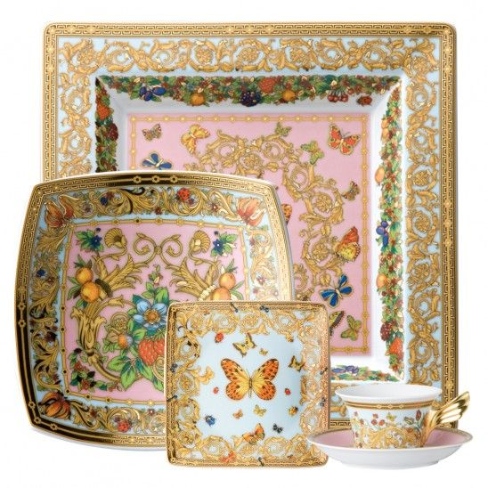 Versace Butterfly Garden Dinnerware Collection