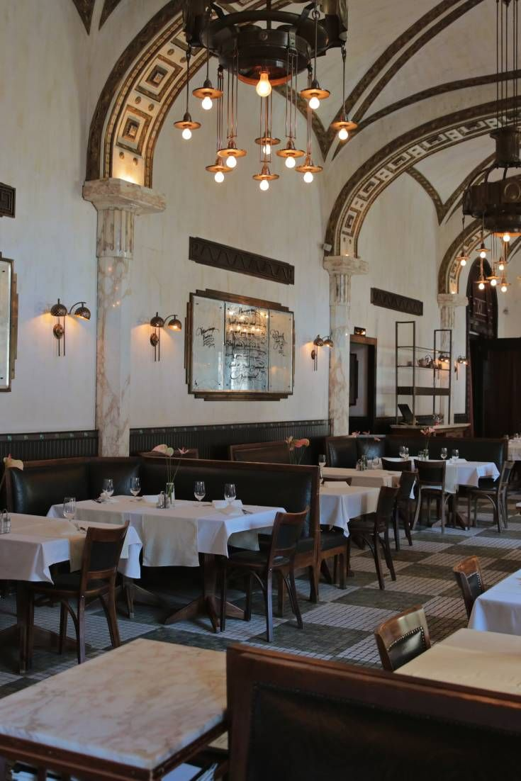 This historic café has the typical turn of the century European atmosphere, making it ideal for film and still photography shoots.