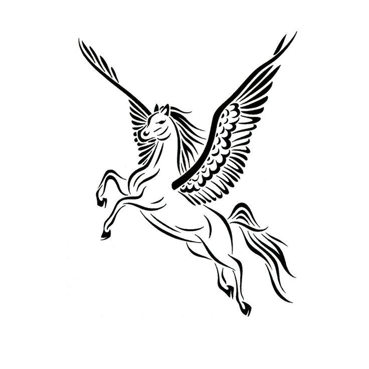 Tribal+Pegasus+Tattoo+Design+by+JSHarts.deviantart.com+on+@deviantART