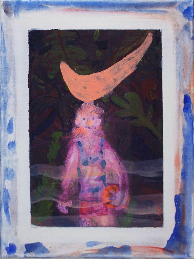 michaelswaney: Brandon Aguiar, Ghostly Baller, 2014. 14 X 18