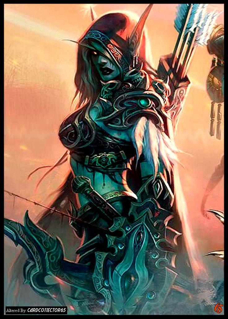 Elf Warrior, Female - MTG - Sleeves                              …
