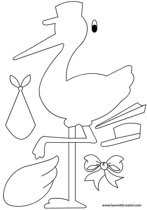 sagoma-cicogna-nascita