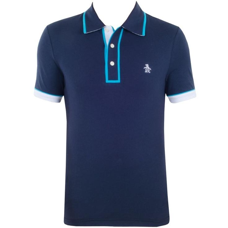 125 best men 39 s golf style images on pinterest golf style for Golf shirt with penguin logo