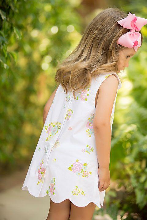 Luanne's Lunch Dress - Biltmore Bouquet