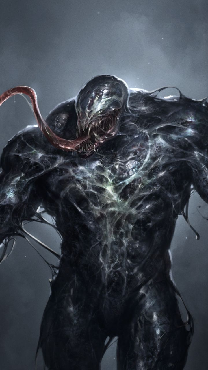 Dark Villain Creepy Venom Art Wallpaper Venom Art Marvel Artwork Art