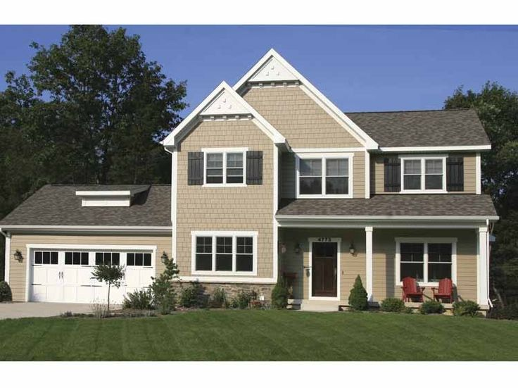 15 best images about small hp lots on pinterest house for Colonial garage plans