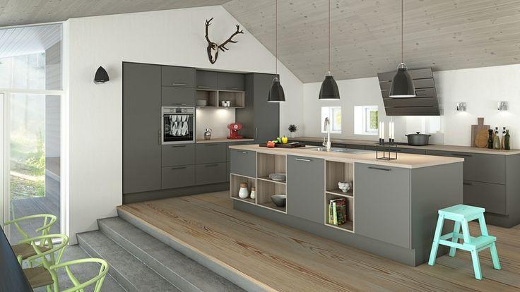 Moderne Kjøkken Inspirasjon : Kjøkken Inspirasjon