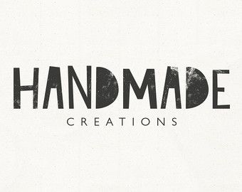 modern logo rustic small business logo design creative business branding handmade unique typography - Modern Logos Design Ideas
