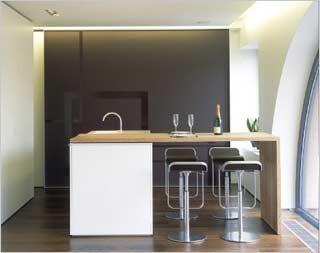 vrijstaand keuken blok van Filip Deslee