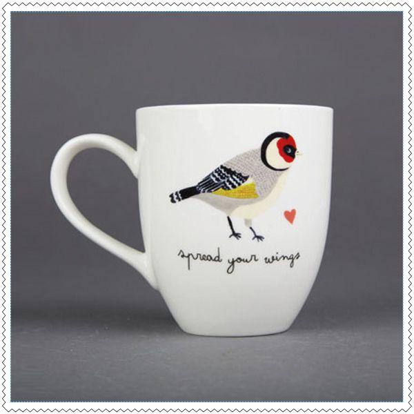 "Image of Mug ""Bird"""