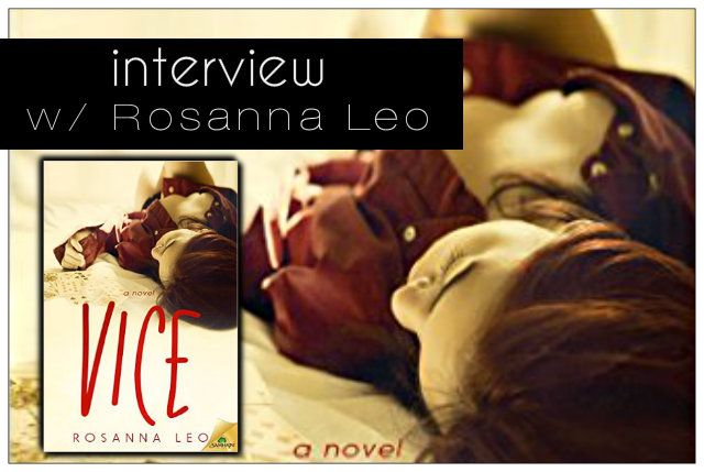 Interview w/ Rosanna Leo-- nutella shame, hairy chests and energizer bunnies?