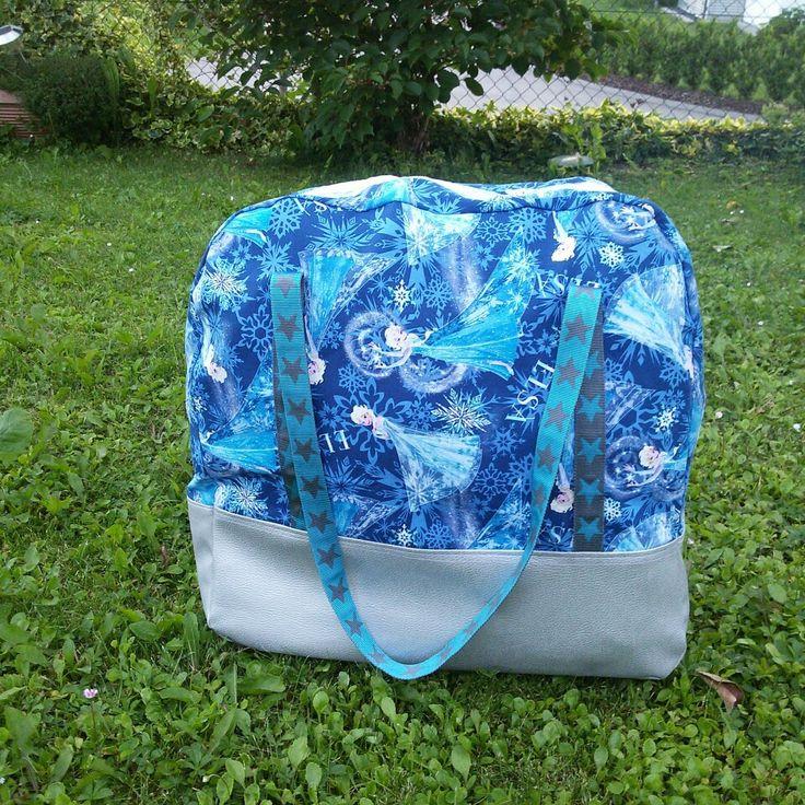 Farbenmix XXL Reisetasche fürs Töchterchen #farbenmix #taschenspieler3 #xxlreisetasche