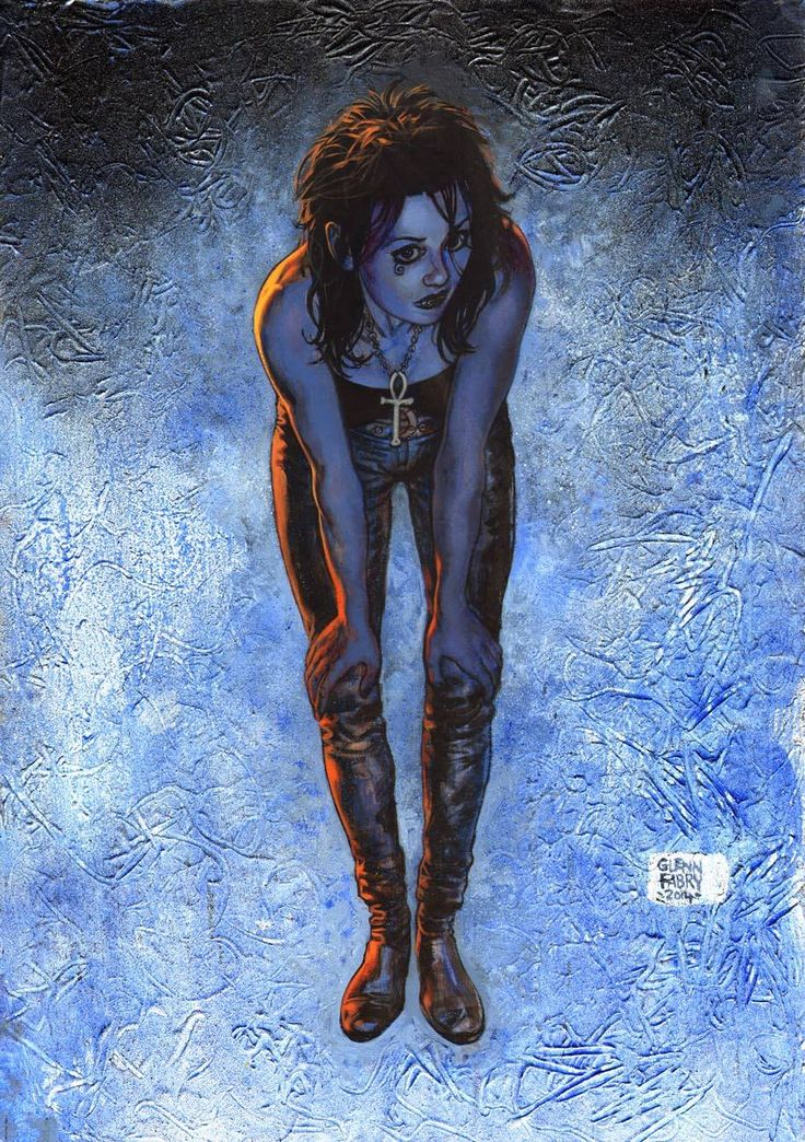 Death from Sandman by Glenn Fabry