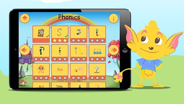 Learning maths and literacy with Pippop app for young children