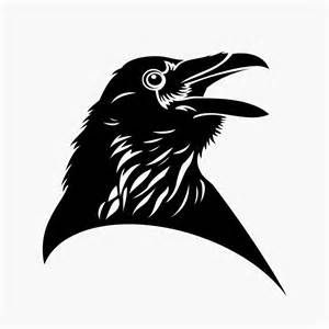 Celtic Crow Tattoo Meaning Another black raven tattoo set