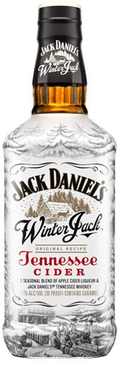WINTER JACK  Jack Daniel's Winter Jack is a seasonal blend of apple cider liqueur, Jack Daniel's Old No. 7 Tennessee Whiskey and holiday spices. Best served warm. Once heated, it has an inviting aroma of warm apple cider, orange peel, cinnamon, clove and Jack Daniel's Tennessee Whiskey. The taste is reminiscent of apple pie complemented with Tennessee Whiskey and seasonal spices, with a finish of toasted oak and vanilla.
