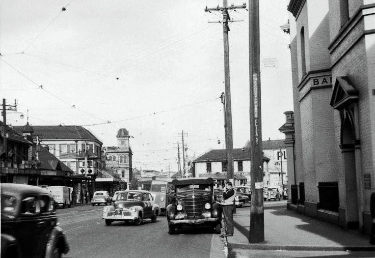 Newtown Bridge. King Street. 1959