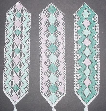lace bookmark patterns | FREE TORCHON LACE PATTERNS | Free Patterns