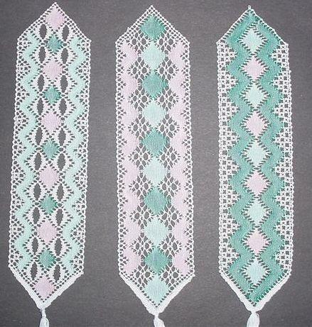 lace bookmark patterns | FREE TORCHON LACE PATTERNS | Free Patterns