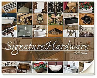 33 Home Decor Catalogs You Can Get for Free by Mail: Signature Hardware Home Decor Catalog