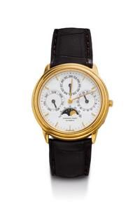 #WRISTWATCH, #AUTOMATIC, PERPETUAL CALENDAR WITH MOON PHASE, AUDEMARS #PIGUET,
