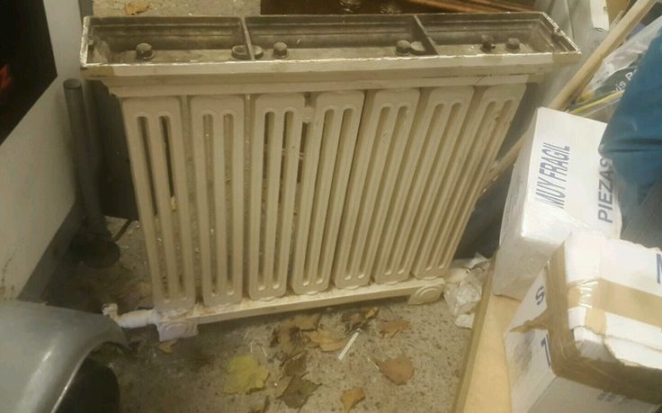 Victorian cast iron radiator | eBay