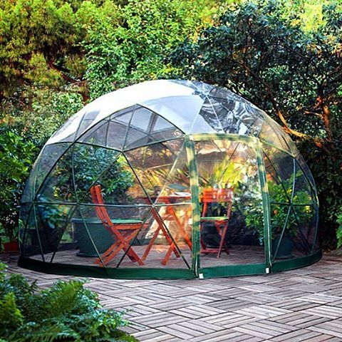 the garden igloo tinyhouse architecture home micro. Black Bedroom Furniture Sets. Home Design Ideas