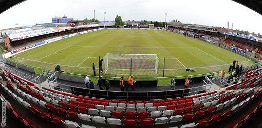 Victoria Road - Panoramic - Dagenham and Redbridge FC