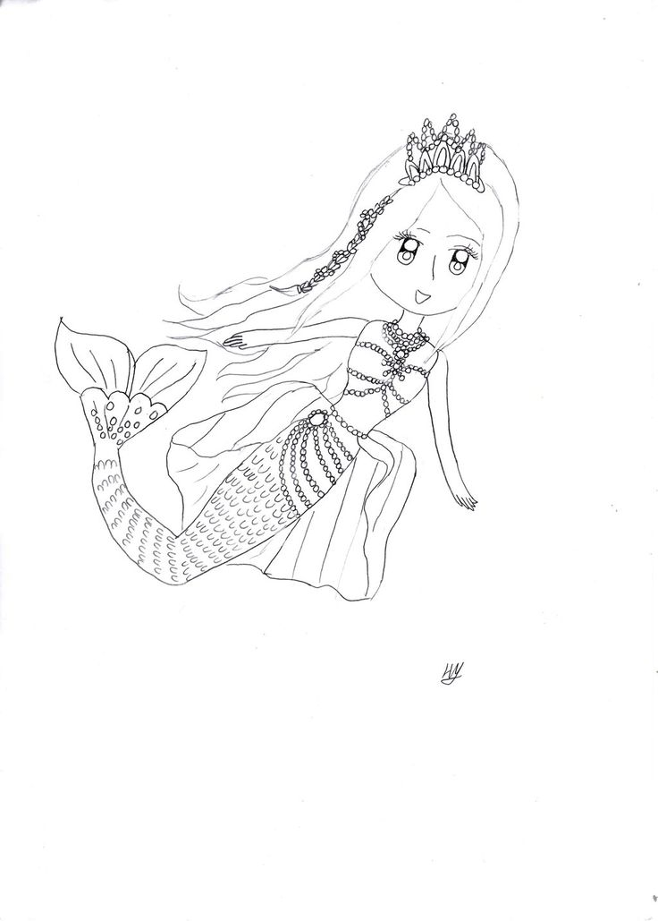 95 best Mermaid- Deniz Kızı images on Pinterest Mermaids, Coloring - new little mermaid swimming coloring pages