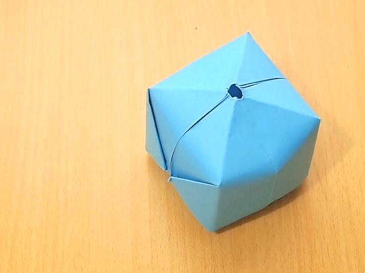 With a square piece of paper, and some patience, you can fold a three-dimensional ball/balloon or cube that you can actually blow up like a little balloon. In fact, you can even fill it with water and make your very own water bomb! Fold a...