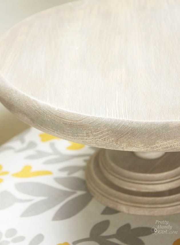 DIY Rustic Cake Stand Tutorial | Pretty Handy Girl