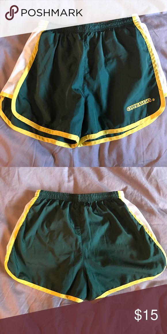 Oregon running shorts Athletic shorts, University of Oregon Shorts