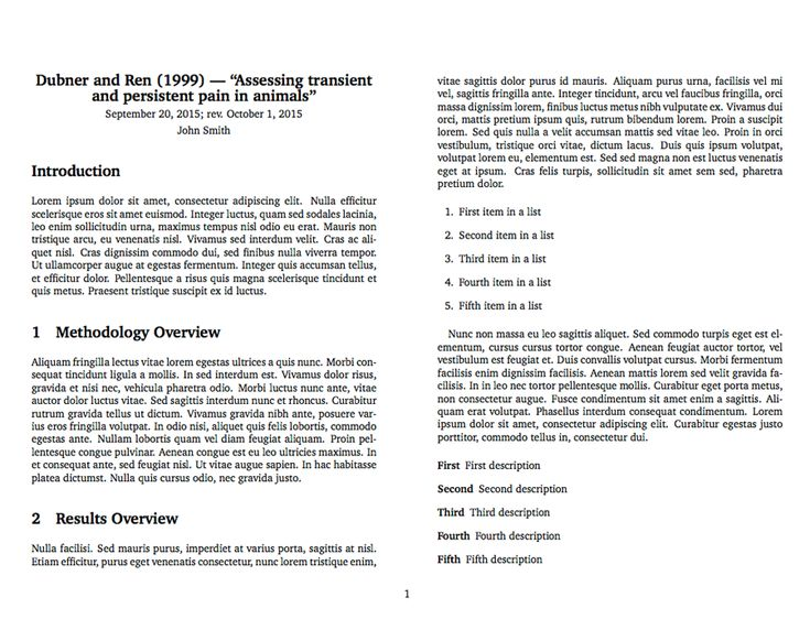 LaTeX template for taking notes on an academic publication